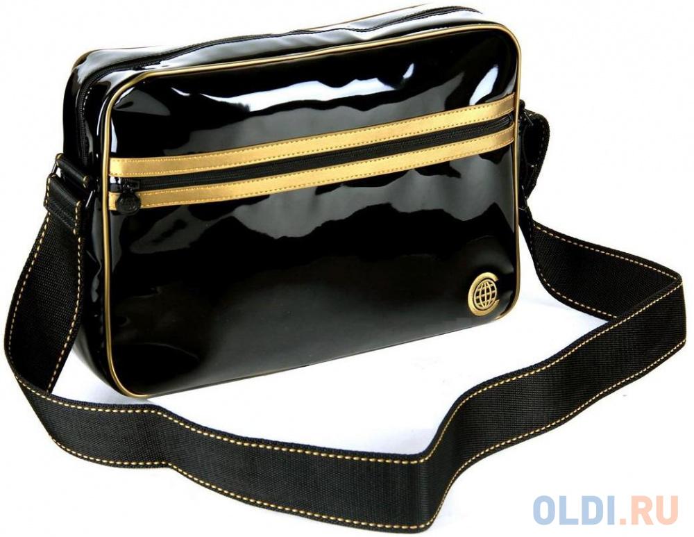 Сумка для ноутбука 15 Continent CC-065 Lac чёрно-золотая