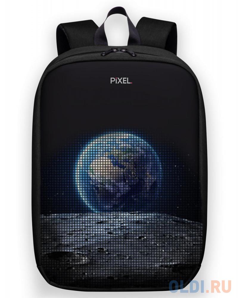 """Картинка для Рюкзак 15"""" Pixel """"MAX"""" полиэстер черный PXMAXBM01"""