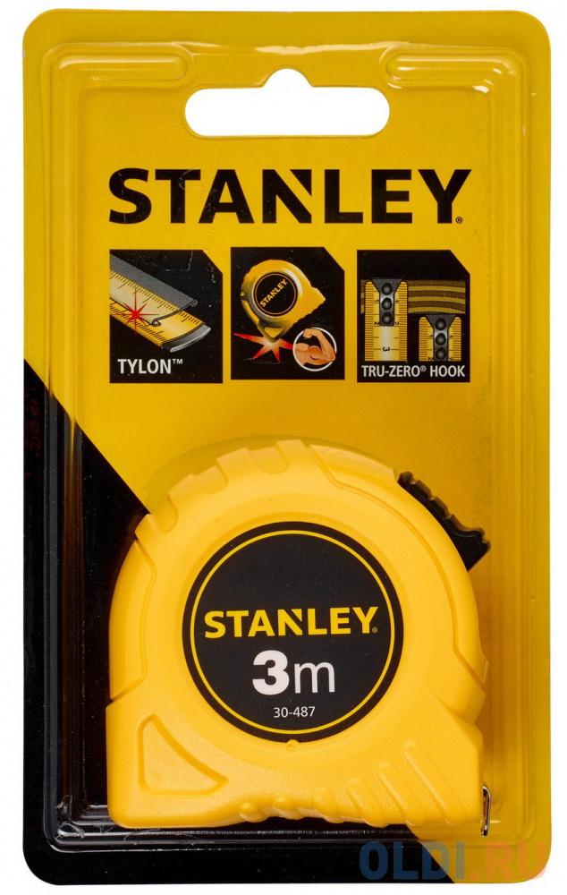 "Stanley рулетка измерительная ""stanley"" 3м х 12,7мм (0-30-487)"
