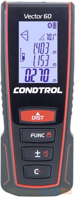 Фото - Дальномер CONDTROL Vector 60 60м ±1.5 лазерный лазерный дальномер condtrol vector 600
