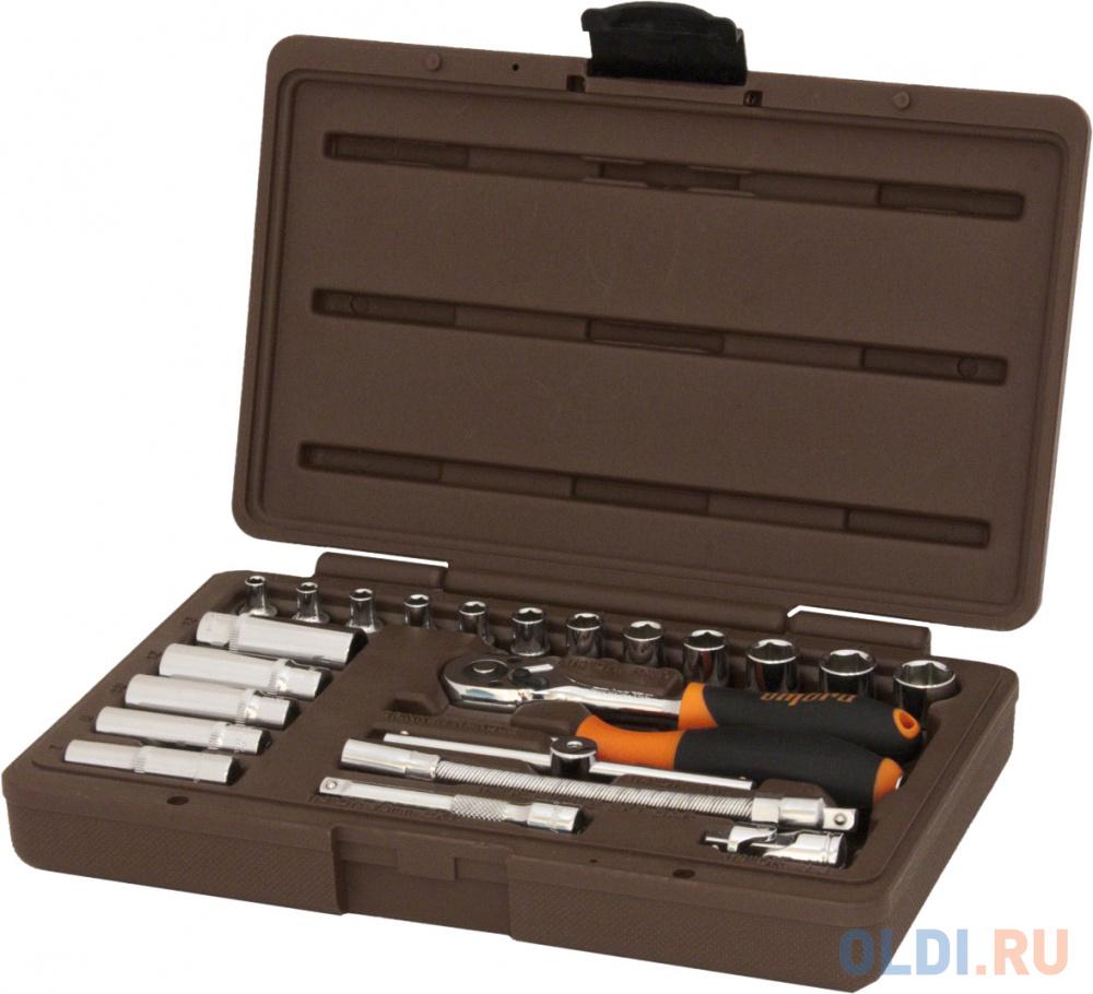 Набор торцевых головок OMBRA 911423  1/4DR 23 предмета.