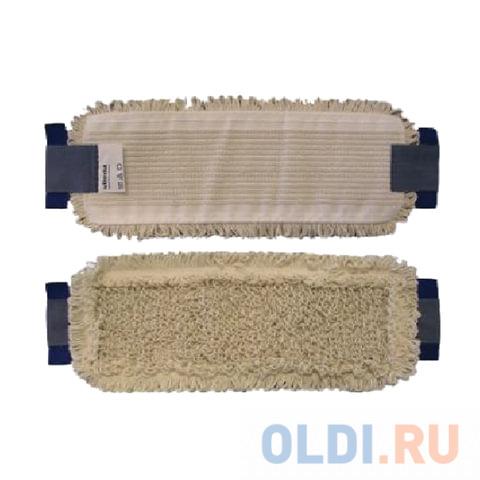 Насадка МОП плоская для швабры/держателя 40 см, уши (ТИП УВ), хлопок/полиэстер, VILEDA УльтраСпидКонтракт, 524814 насадка для швабры vileda ultramax 40 10 см