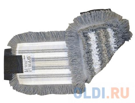 Насадка МОП плоская для швабры/держателя 40 см, уши (УВ), полиэстер/волокно/вискоза, VILEDA УльтраСпидТрио+, 515730 насадка для швабры vileda ultramax 40 10 см