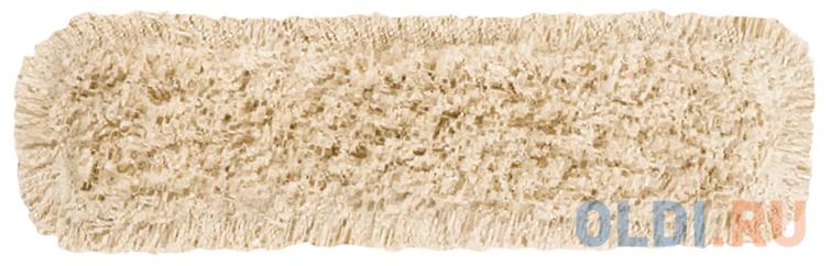 Насадка МОП плоская 60 см для швабры-рамки, карманы, хлопок, VILEDA ДастМоп, 118102 насадка для швабры vileda ultramax 40 10 см