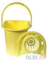 ВЕДРО МОП (С ОТЖИМОМ) 14 Л (1/24) YORK ведро для поломоя apex с отжимом цвет желтый 15 л