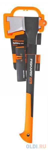 Топор-колун FISKARS Х17-M 129050  65х21х3см 1.57кг+точилка  Xsharp.