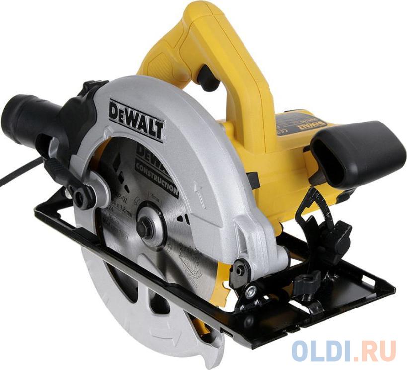 Циркулярная пила (дисковая) DeWalt DWE560B-KS 1350Вт (ручная).
