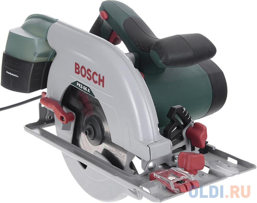 Дисковая пила Bosch PKS 66 A пила bosch pks 40 06033c5000