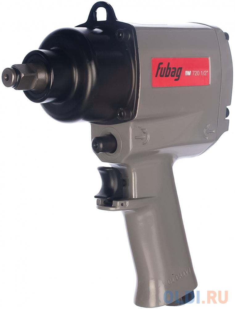 Гайковерт пневматический FUBAG IW 720  100192 ударный 1/2 226л/м 720нм 6.3бар 1/2.