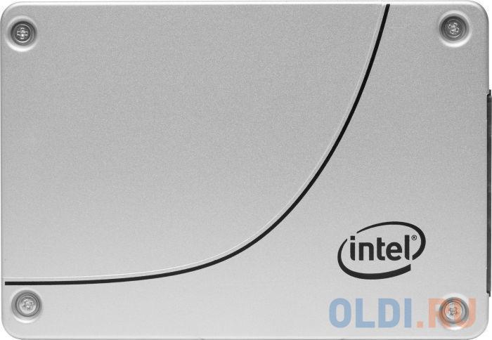 Твердотельный накопитель SSD 2.5 960 Gb Intel DC D3-S4510 Read 560Mb/s Write 510Mb/s 3D NAND TLC SSDSC2KB960G801 963341 ssd накопитель intel dc d3 s4510 ssdsc2kb960g801 960gb 2 5 sata iii ssd ssdsc2kb960g801 963341