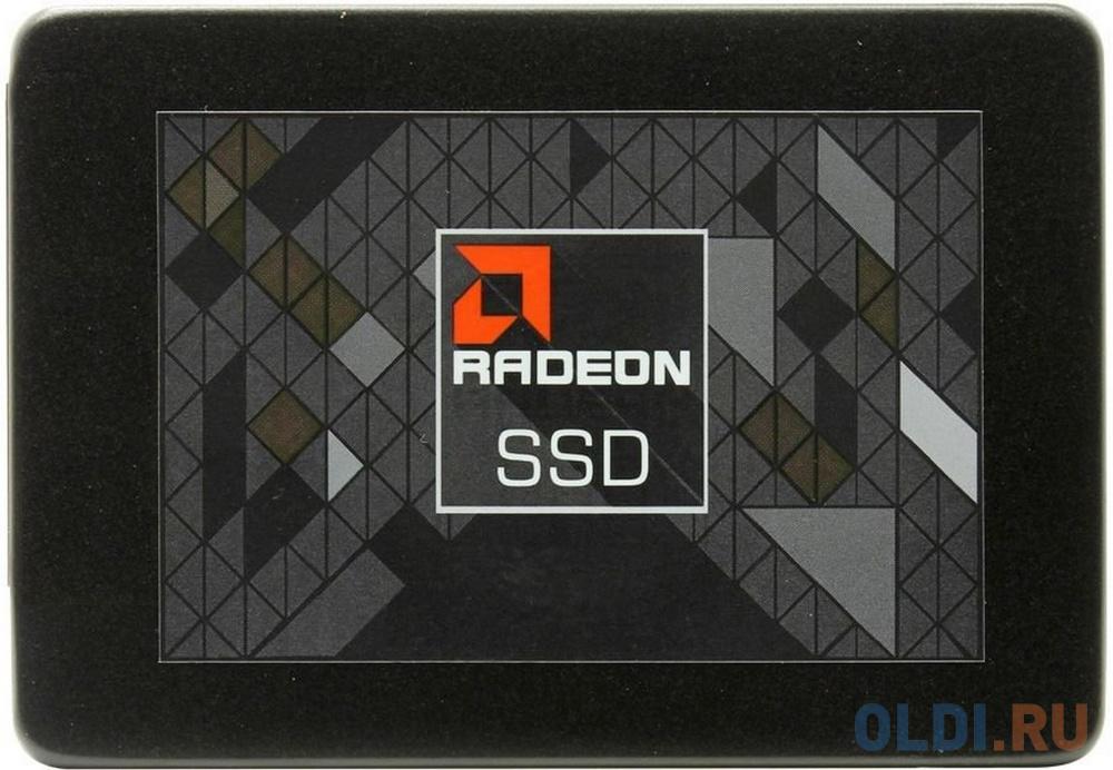 Фото - Твердотельный накопитель SSD 2.5 480 Gb AMD R5SL480G Read 530Mb/s Write 450Mb/s 3D NAND TLC твердотельный накопитель ssd 2 5 120 gb sandisk plus sdssda 120g g27 read 530mb s write 310mb s tlc
