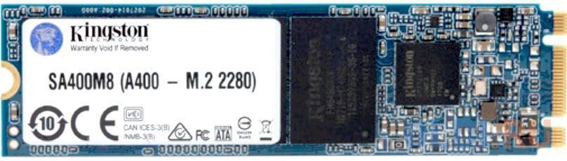 Фото - Твердотельный накопитель SSD M.2 120 Gb Kingston SA400M8/120G Read 500Mb/s Write 320Mb/s 3D NAND TLC SA400M8/120G твердотельный накопитель ssd 2 5 120 gb sandisk plus sdssda 120g g27 read 530mb s write 310mb s tlc
