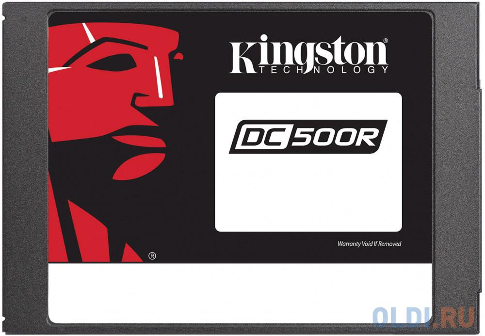 Твердотельный накопитель SSD 2.5 960 Gb Kingston SEDC500R/960G Read 555Mb/s Write 525Mb/s 3D NAND TLC твердотельный накопитель ssd 2 5 250 gb sandisk ultra sdssdh3 250g g25 read 550mb s write 525mb s ultra 3d