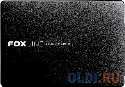 Твердотельный накопитель SSD 2.5 480 Gb Foxline FLSSD480SM5 Read 550Mb/s Write 450Mb/s 3D NAND TLC твердотельный накопитель ssd 2 5 250 gb sandisk ultra sdssdh3 250g g25 read 550mb s write 525mb s ultra 3d