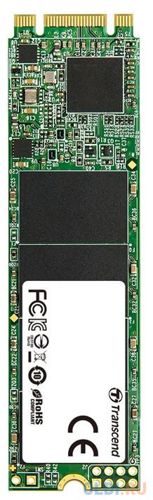 Твердотельный накопитель SSD M.2 960 Gb Transcend TS960GMTS820S Read 550Mb/s Write 500Mb/s 3D NAND TLC твердотельный накопитель ssd 2 5 250 gb sandisk ultra sdssdh3 250g g25 read 550mb s write 525mb s ultra 3d