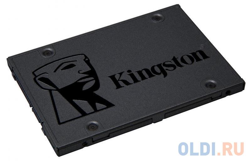 Твердотельный накопитель SSD 2.5 240Gb Kingston SATA3 SSDNow A400 SA400S37/240G ssd накопитель kingston a400 sata iii 240gb 2 5 sa400s37 240g