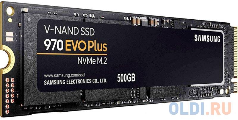 Фото - Твердотельный накопитель SSD M.2 NVMe 500GB Samsung 970 EVO Plus (R3500/W3200Mb/s, V-NAND 3-bit MLC, Phoenix, PCIe, 2280) (MZ-V7S500BW) внешний ssd samsung 250gb 980 pro m 2 pcie nvme mlc v nand mz v8p250bw
