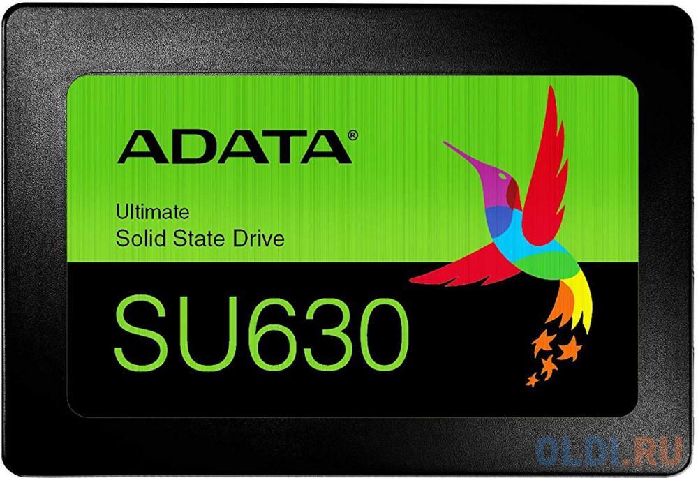 "Картинка для Твердотельный накопитель SSD A-data SATA III 480Gb ASU630SS-480GQ-R QLC 2.5"" SATAIII 3D NAND / without 2.5 to 3.5 brackets"