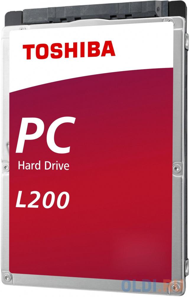 Жесткий диск для компьютера 2.5 1 Tb 5400rpm 128Mb Toshiba L200 Slim SATA III 6 Gb/s жесткий диск toshiba l200 slim hdwl110ezsta 1тб hdd sata iii 2 5 rtl