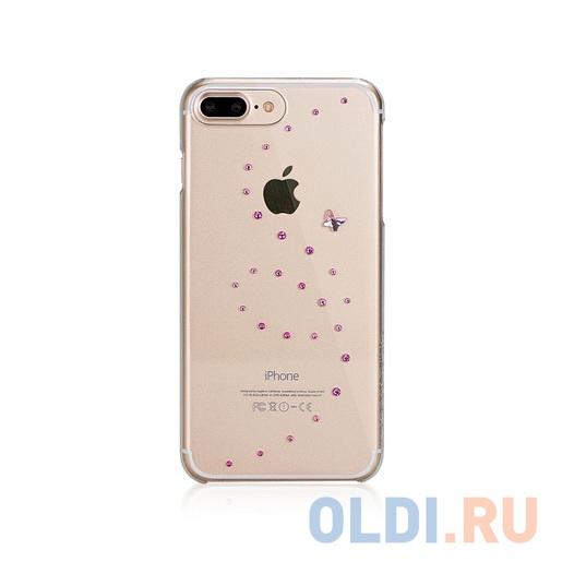 Накладка Bling My Thing Milky Way для iPhone 7 прозрачный ip7-mw-cl-ccd c кристаллами Swarovski / дизайн: Cotton Candy