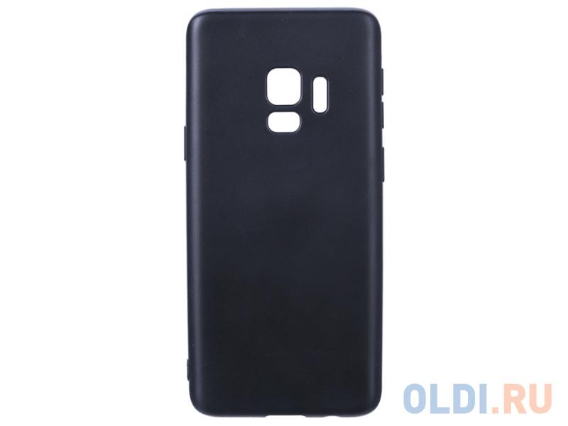 Чехол Deppa Case Silk для Samsung Galaxy S9, черный металлик чехол deppa silk для samsung galaxy s9 purple