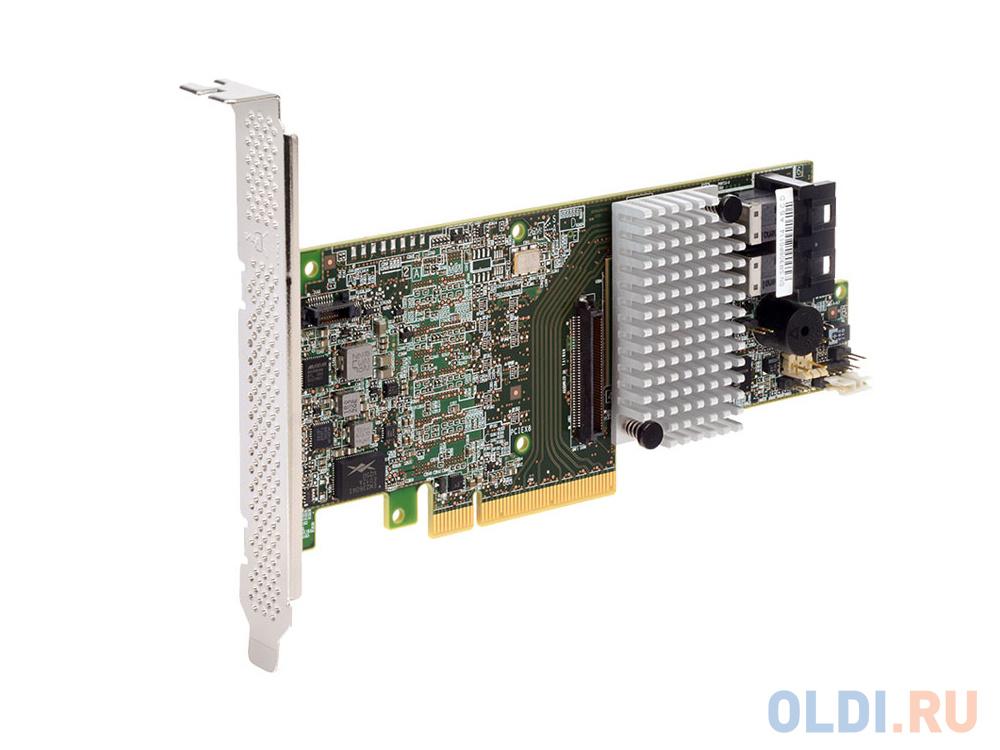 Фото - Контроллер RAID Intel RS3DC080 PCI-E x8 12Gb SAS/SATA sas sata raid контроллер