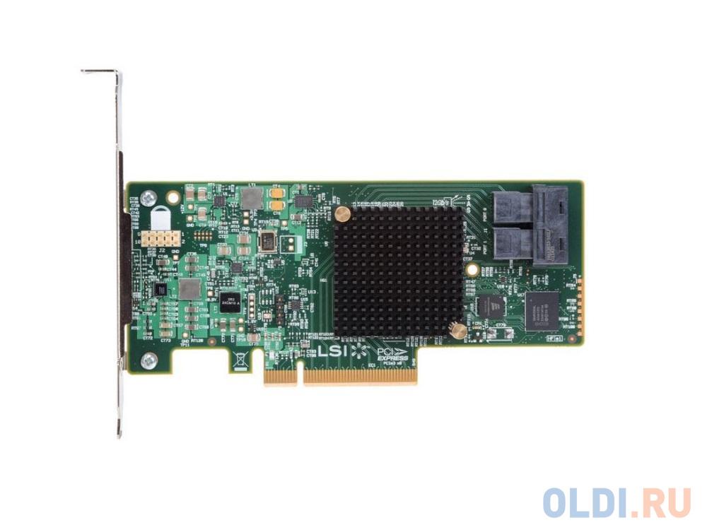 Фото - Контроллер RAID Intel RS3WC080 PCI-E x8 12Gb SAS/SATA sas sata raid контроллер