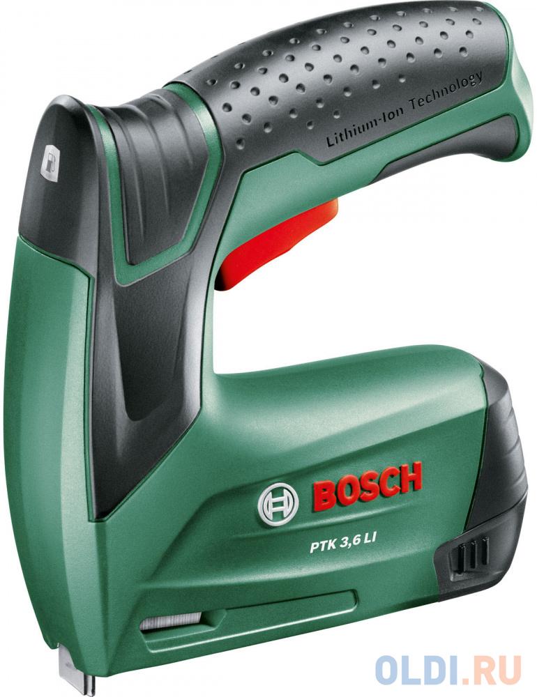 Степлер Bosch PTK 3,6 LI 0603968120 ручной степлер bosch ht8 0603038000