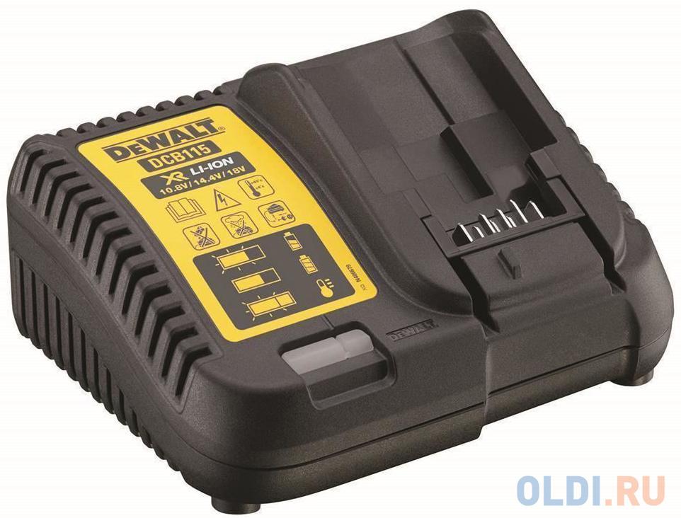 Зарядное устройство DeWalt DCB115-QW для DeWalt DCD700C2 LAKA DCD710C2 LAKA DCD734С2 LAKA DCD771C2 LAKA DCD776C2A LAKA DCF815D2-QW DCG412 M2-QW DCG412N-XJ DCH253N-XJ DCS355N DCV582 DCF899P2-QW DCD995P2-QW.