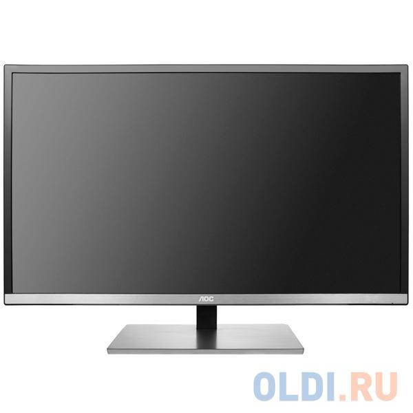 Монитор 31.5 AOC U3277FWQ gl.Black MVA, 3840x2160, 4ms, 350 cd/m2, 3000:1 (DCR 80M:), D-Sub, DVI, HDMI, DP, 3Wx2, Headph.Out, vesa монитор 32 aoc u3277fwq mva 3840x2160 4ms dvi d hdmi displayport vga