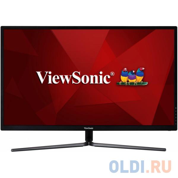 Монитор 31.5 ViewSonic VX3211-2K-MHD gl. Black IPS, 2560x1440, 3ms, 250 cd/m2, 1200:1 (DCR 80M:1), D-Sub,HDMI, DP, 2.5Wx2, Headph.Out, vesa