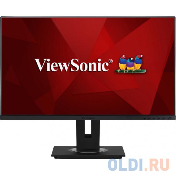 Монитор 27 ViewSonic VG2755 Black AH-IPS,1920x1080, 5ms, 250 cd/m2, 1000:1,D-Sub,HDMI, DP, USB, 2Wx2, HAS, Pivot, vesa монитор 27 benq gw2780 black ips 1920x1080 5ms 250 cd m2 d sub hdmi dp 2wx2 headph out vesa