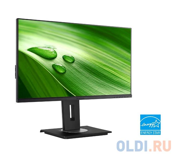 Монитор 23.8 ViewSonic VG2455 Black AH-IPS,1920x1080, 5ms, 250 cd/m2, 1000:1 (DCR 50M:1), D-Sub,HDMI,DP,USB,2Wx2, Headph.Out,HAS, Pivot, vesa монитор 27 benq gw2780 black ips 1920x1080 5ms 250 cd m2 d sub hdmi dp 2wx2 headph out vesa