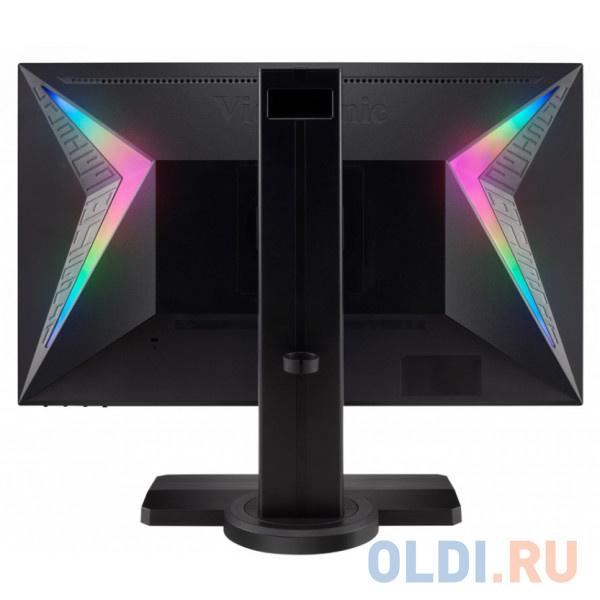 Монитор 24 ViewSonic XG240R Black 1920x1080144Hz1ms 350 cd/m2 1000:1 (DCR 120M:1) HDMI2 DP USB 2Wx2 Headph.Out HAS Pivot vesa.