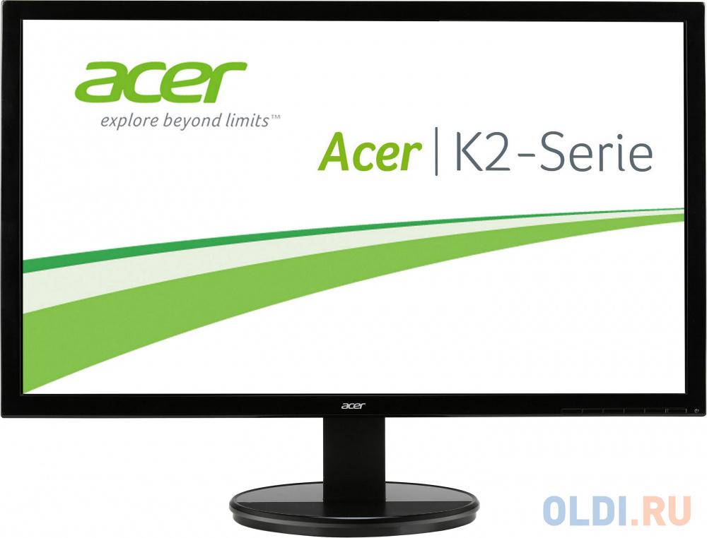 Монитор 24 Acer K242HLBD gl. Black LED, 1920x1080, 5ms, 250 cd/m2, 100M:1, D-Sub, DVI (HDCP) монитор 21 5 acer k222hqlbid gl black led 1920x1080 5ms 200 cd m2 dcr 100m 1 d sub dvi hdcp hdmi vesa