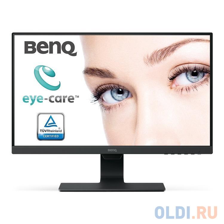 Монитор 23.8 Benq GW2480 Black 1920x1080, 5ms, 250 cd/m2, 1000:1, D-sub, HDMI, DP, 1Wx2, Headph.Out, vesa монитор 27 benq gw2780 black ips 1920x1080 5ms 250 cd m2 d sub hdmi dp 2wx2 headph out vesa
