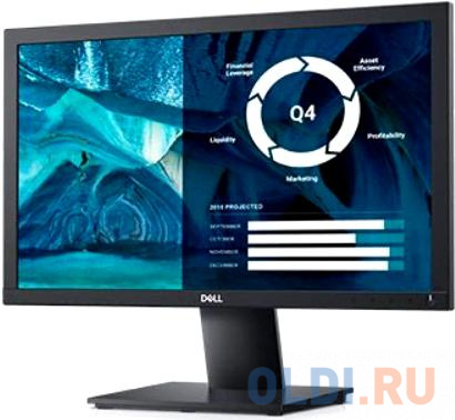 Фото - Монитор 20 DELL E2020H черный TN 1600x900 250 cd/m^2 5 ms VGA DisplayPort 2020-0674 монитор dell 31 5 s3220dgf 3220 0162 черный