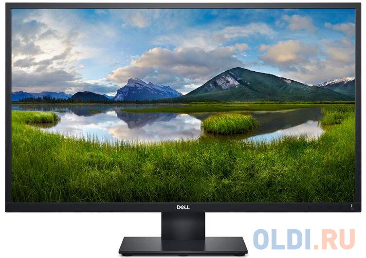 Фото - Монитор 27 DELL E2720HS черный IPS 1920x1080 300 cd/m^2 5 ms VGA HDMI 2720-0728 монитор dell 31 5 s3220dgf 3220 0162 черный