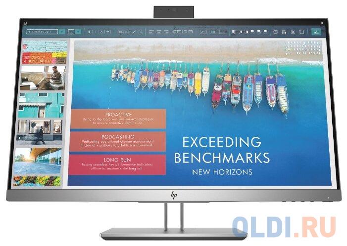 Монитор 23.8 HP EliteDisplay E243d черный серебристый IPS 1920x1080 250 cd/m^2 7 ms HDMI Mini DisplayPort VGA USB Аудио USB Type-C 1TJ76AA монитор hp 24fw 23 8 серебристый черный [4tb29aa]