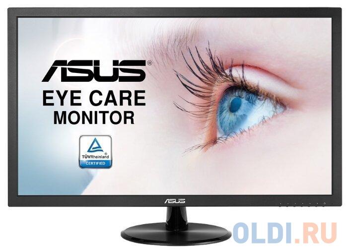 Монитор 24 ASUS VP247NA черный VA 1920x1080 250 cd/m^2 5 ms DVI VGA 90LM01L0-B06170 монитор asus vg248qe 24 черный