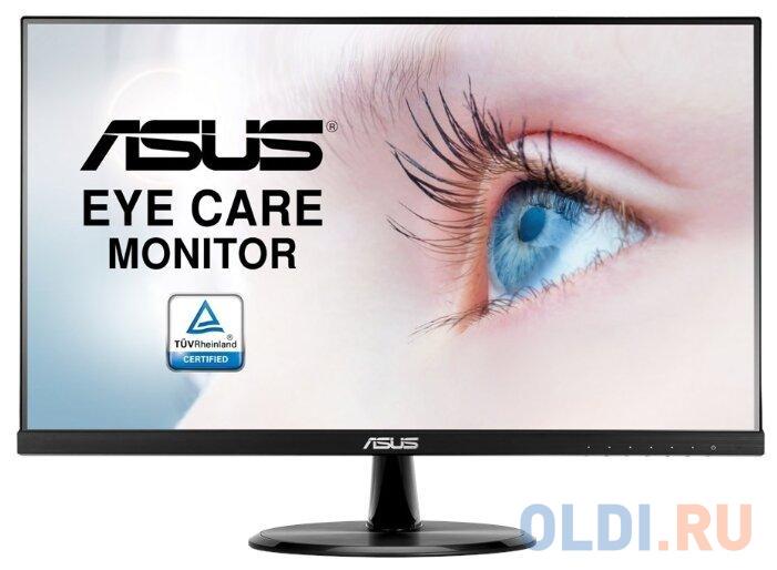 Фото - Монитор 24 ASUS VP249HR черный IPS 1920x1080 250 cd/m^2 5 ms HDMI VGA Аудио 90LM03L0-B01170 монитор 23 8 philips 243v7qdab 00 01 черный ips 1920x1080 250 cd m^2 5 ms dvi hdmi vga аудио