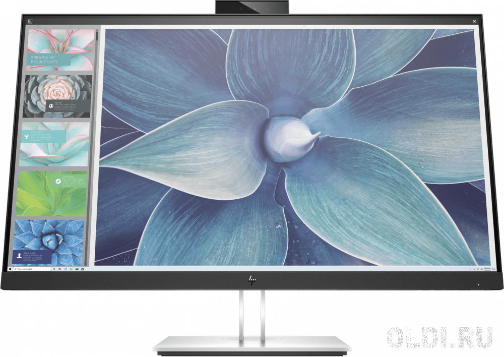 Фото - Монитор 27 HP E27d G4 черный IPS 2560x1440 300 cd/m^2 5 ms HDMI DisplayPort USB Type-C USB 6PA56AA монитор 22 hp p22h g4 черный ips 1920x1080 250 cd m^2 5 ms displayport vga hdmi 7uz36aa