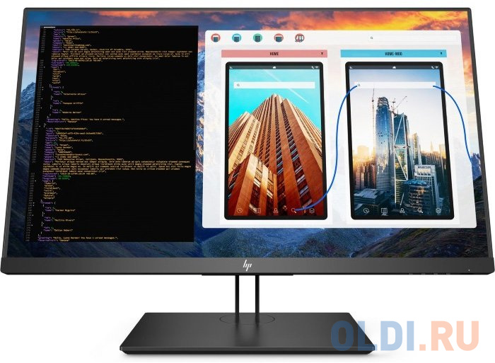 Монитор 27 HP Z27 4K UHD черный IPS 3840x1080 350 cd/m^2 8 ms HDMI DisplayPort Mini DisplayPort USB Аудио 2TB68A4 монитор hp 24fw 23 8 серебристый черный [4tb29aa]