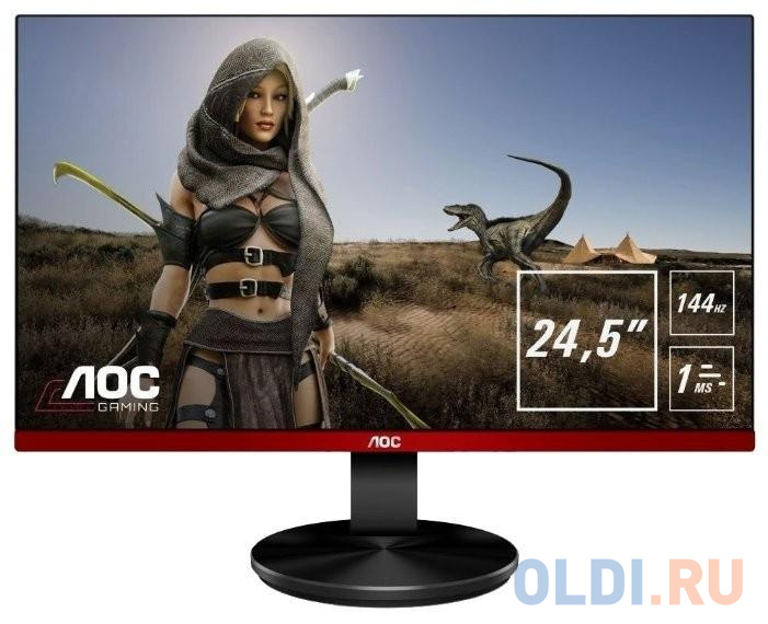Монитор 25 AOC G2590FX черный TN 1920x1080 400 cd/m^2 1 ms HDMI DisplayPort VGA Аудио