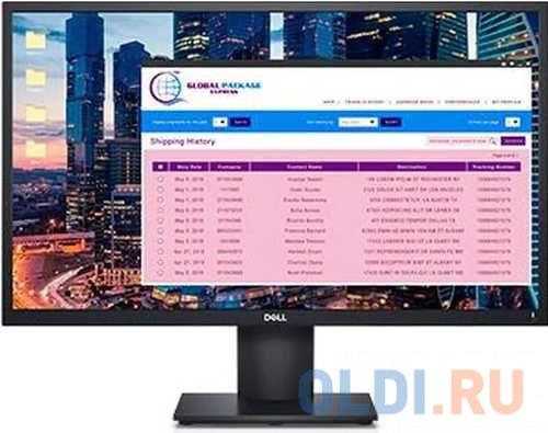 Монитор 23.8 DELL E2420H черный IPS 1920x1080 250 cd/m^2 5 ms VGA DisplayPort монитор 23 8 dell p2418ht черный ips 1920x1080 250 cd m^2 6 ms hdmi vga usb аудио 2418 5128