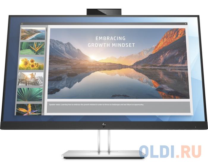 Фото - Монитор 24 HP E24d G4 черный IPS 1920x1080 250 cd/m^2 5 ms DisplayPort HDMI Аудио USB 6PA50AA монитор 22 hp p22h g4 черный ips 1920x1080 250 cd m^2 5 ms displayport vga hdmi 7uz36aa