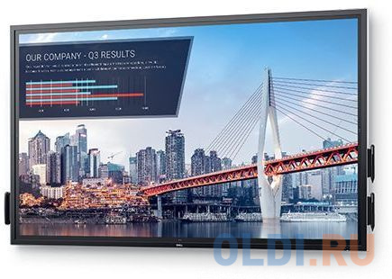 Монитор Dell 75 C7520QT черный IPS LED 8ms 16:9 HDMI M/M матовая 1200:1 350cd 178гр/178гр 3840x2160 D-Sub DisplayPort Ultra HD USB Touch 76кг панель philips 49 49bdl4031d 00 черный led 12ms 16 9 dvi hdmi m m 1100 1 450cd 178гр 178гр 1920x1080 d sub displayport rca да fhd 14 8кг