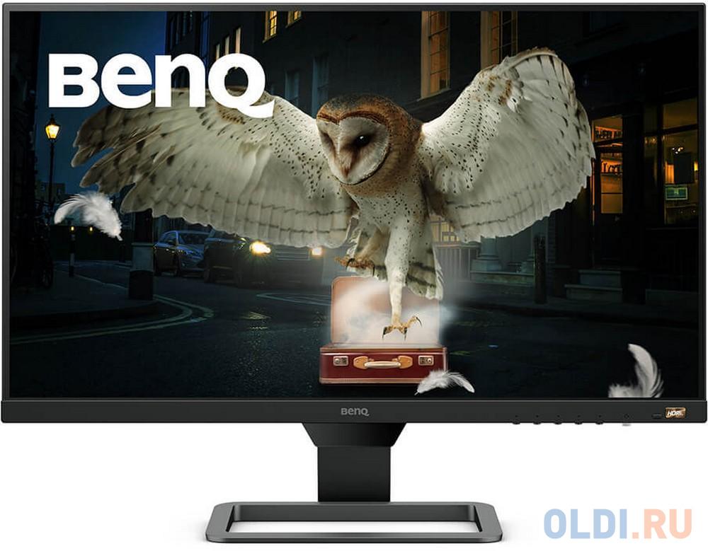 """Картинка для Монитор 27"""" BENQ EW2780 черный IPS 1920x1080 250 cd/m^2 5 ms HDMI Аудио 9H.LJ4LA.TSE"""