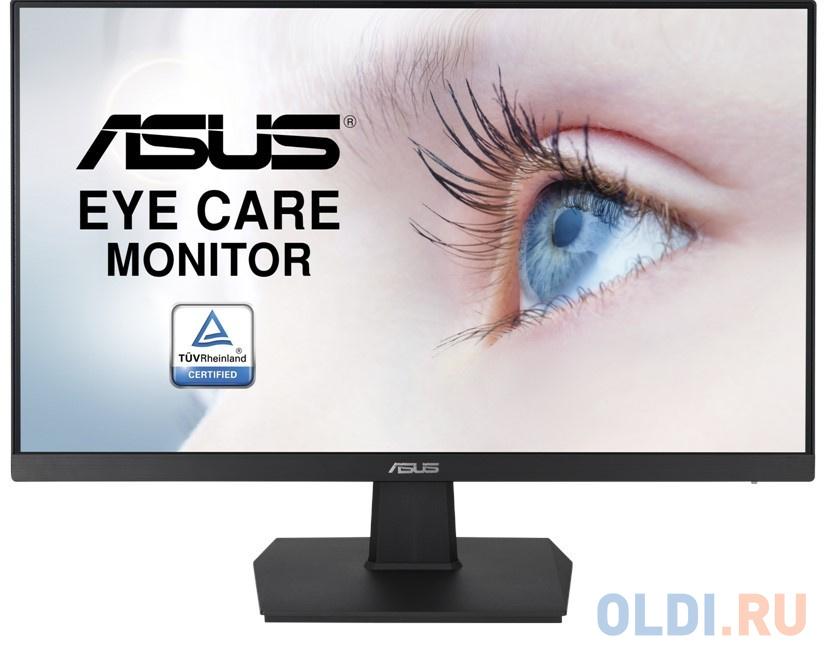 Монитор 27 ASUS VA27EHE черный IPS 1920x1080 250 cd/m^2 5 ms HDMI VGA 90LM0550-B01170 монитор 27 asus vz279he w белый ips 1920x1080 250 cd m^2 5 ms vga hdmi 90lm02xd b01470