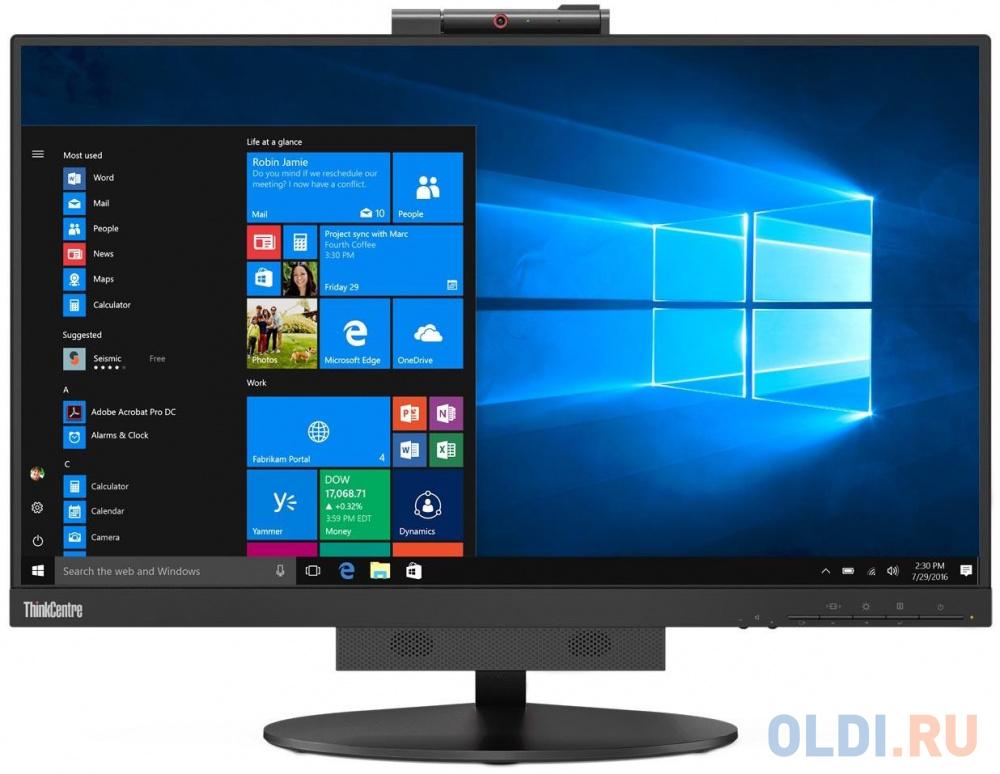 Монитор 22 Lenovo Monitors TIO черный IPS 1920x1080 250 cd/m^2 6 ms DisplayPort LAN Аудио 10R1PAT1EU lenovo displayport to displayport